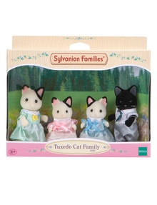 Sylvanian Families Tuxedo Cat Family product photo