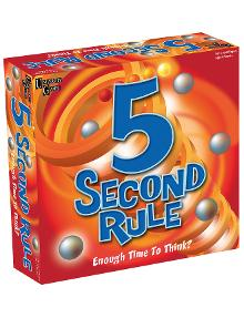Games 5 Second Rule product photo