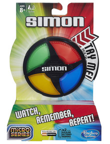 Hasbro Games Simon Micro Series product photo