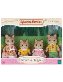 Sylvanian Families Striped Cat Family product photo