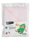 Mum 2 Mum Hooded Towel, Baby Pink product photo  THUMBNAIL