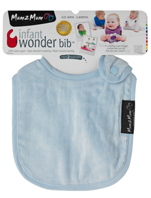 Mum 2 Mum Infant Wonder Bib, Light Blue product photo