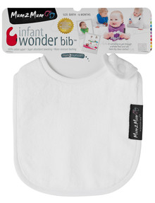 Mum 2 Mum Infant Wonder Bib, White product photo