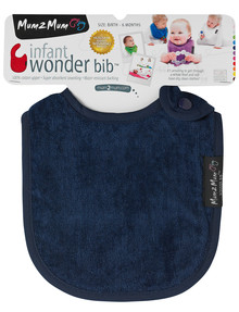 Mum 2 Mum Infant Wonder Bib, Navy product photo
