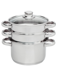 Baccarat Gourmet 3-Tier Steamer Set product photo