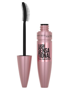 Maybelline Lash Sensational Washable Mascara, Black Rose product photo