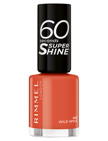 Rimmel 60 Seconds Nail Polish, 410 Wild Spice product photo