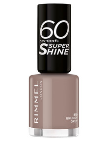 Rimmel 60 Seconds Nail Polish, Grunery Grey 810 product photo