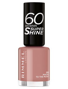 Rimmel 60 Seconds Nail Polish, Mauve to The Music 230 product photo