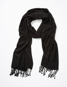Boston & Bailey Essential Scarf, Black product photo
