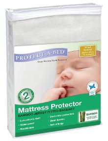 Protect-A-Bed Bamboo Bassinet Mattress Protector product photo