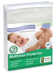 Protect-A-Bed Bamboo Cot Mattress Protector product photo