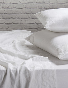 Domani Toscana Sheet Set, White product photo