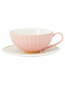 Salt&Pepper Eclectic Cup & Saucer, 250ml, Pink product photo