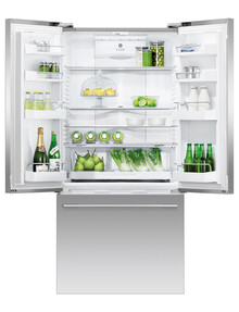 Fisher & Paykel Designer French Door Ice & Water Refrigerator Freezer, Stainless Steel, RF522ADUX5 product photo