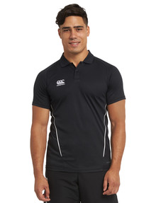 Canterbury Team Dry Polo, Black product photo
