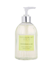 Peppermint Grove Hand & Body Wash, 500ml, Lemongrass & Lime product photo