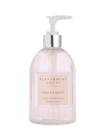 Peppermint Grove Hand & Body Wash, 500ml, Freesia & Berries product photo
