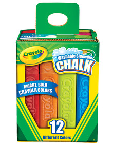 Crayola Washable Sidewalk Chalk product photo