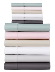 Domani Novella 375 Thread Count Cotton Sheet Set product photo