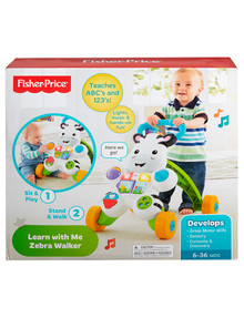Fisher Price Learn with Me Zebra Walker product photo