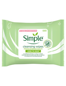 Simple Face Wipes, 25 Wipes product photo