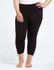 Bodycode Curve Crop Length Legging, Black product photo