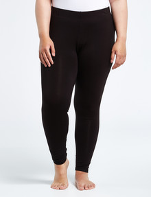 Bodycode Curve Full Length Legging, Black product photo