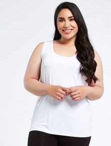 Bodycode Curve Tank, Ivory product photo