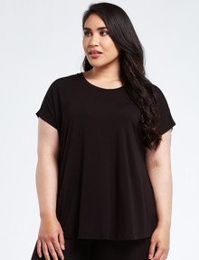 Bodycode Curve Boxy Tee, Black product photo