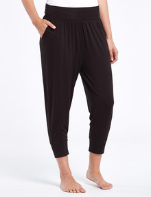 Bodycode Crop-Length Jogger, Black product photo