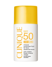 Clinique Mineral Sunscreen Fluid Face SPF50, 30ml product photo