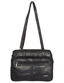 Milano Multi Compartment Tote Bag, Black product photo