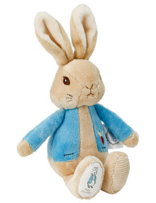 Peter Rabbit Flopsy Bunny Silk Rattle, Assorted product photo
