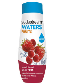 Sodastream Fruits Berry Mix Syrup, 440ml product photo