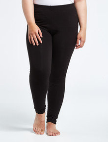 Bodycode Curve BC+ Full Length Leggings, Black product photo