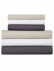 Linen House 250 Thread Count Cotton Fitted Sheet product photo