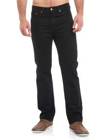 Levis 516 Straight Leg Jean, Black product photo