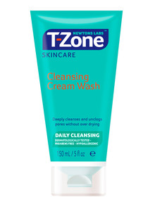T-Zone Cleansing Cream Wash, 150ml product photo