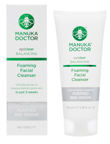 Manuka Doctor ApiClear Foam Cleanser, 100ml product photo