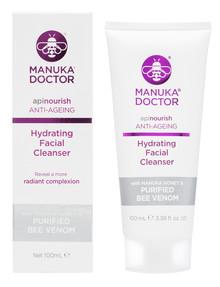 Manuka Doctor ApiNourish Hydrating Facial Cleanser, 100ml product photo