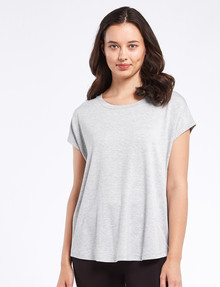 Bodycode Boxy Tee, Greymarle product photo