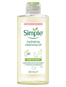 Simple Hydrating Cleansing Oil, 125ml product photo