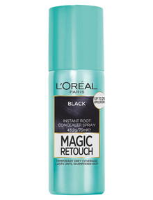 L'Oreal Paris Magic Retouch Temporary Root Concealer Spray, Black product photo