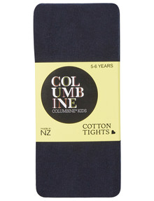 Columbine Cotton Rich Tight, Navy product photo