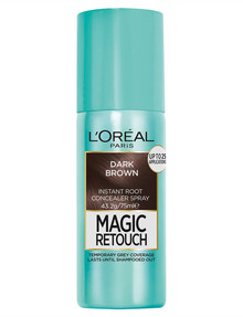 L'Oreal Paris Magic Retouch Temporary Root Concealer Spray, Dark Brown product photo