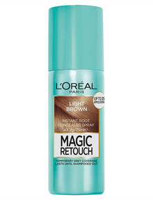 L'Oreal Paris Magic Retouch Temporary Root Concealer Spray, Light Brown product photo