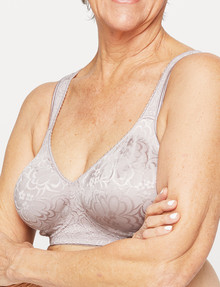 Playtex Ultimate Lift & Support Wirefree Bra Sand, B-DD product photo