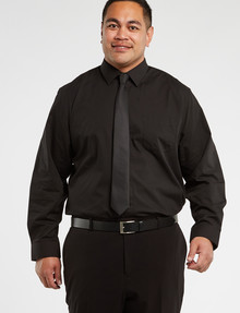 Chisel Formal King Essential Long-Sleeve Shirt, Black product photo
