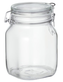 Bormioli Rocco Fido Square Preserving Jar, 750ml product photo